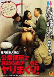 即尺精飲大輪姦!公衆便所で見知らぬチ○ポとヤリまくり! トイレの落書き見た人は、私を犯しに来てください 管野しずか